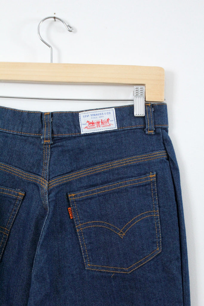 vintage Levi's stretch denim jeans