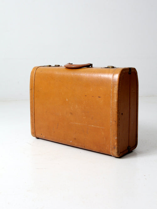 mid-century Lincoln Zephyrweight suitcase