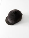 vintage equestrian riding hat