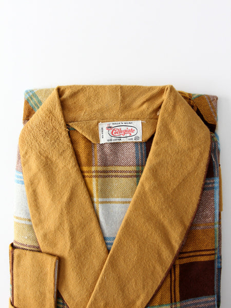 vintage 60s Collegiate children's robe, new old stock