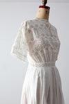 antique Edwardian dress