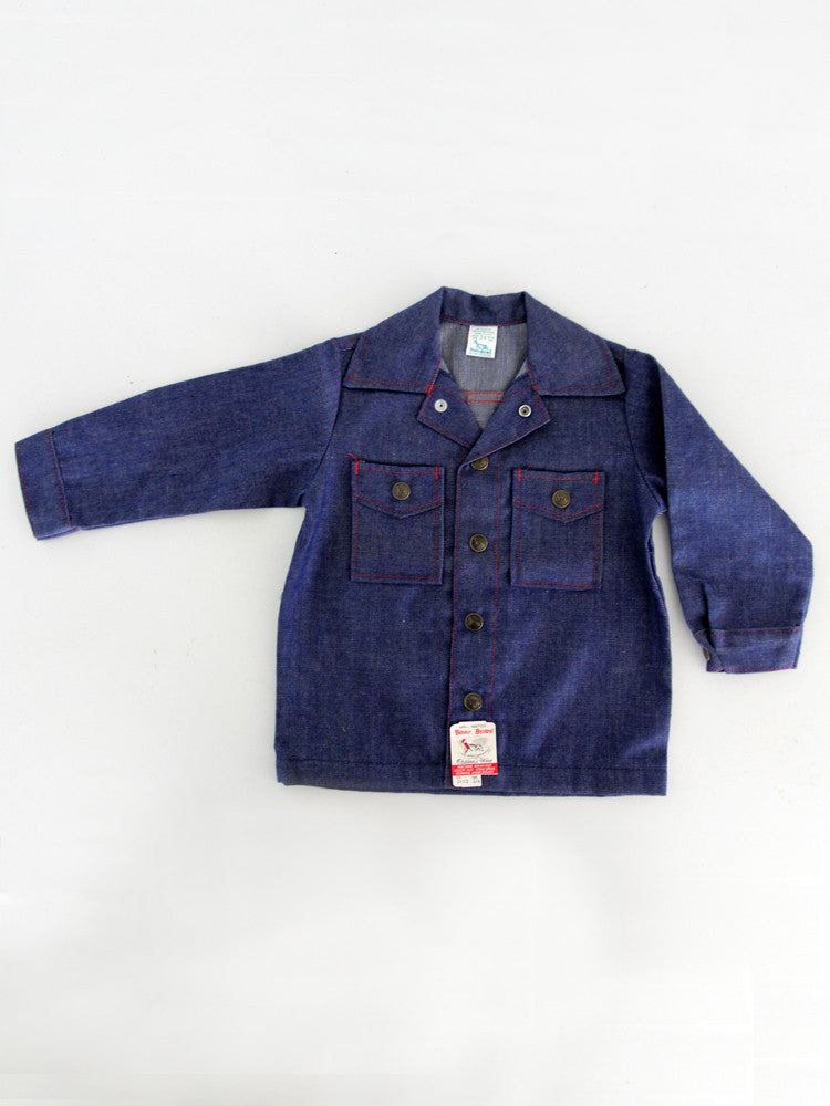 1970s buster brown denim jacket