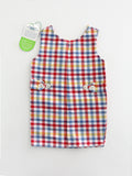 vintage children's checker jumper new old stock