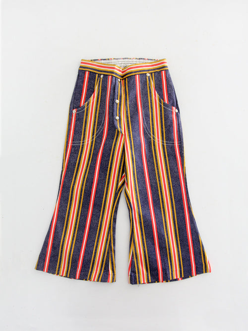 vintage 70s kids bell bottom pants