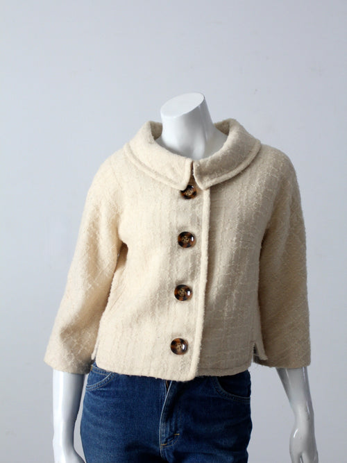 vintage 60s Brentwood boucle jacket