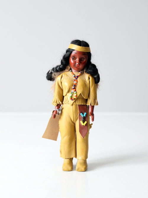 vintage Carlson Dolls Native American doll