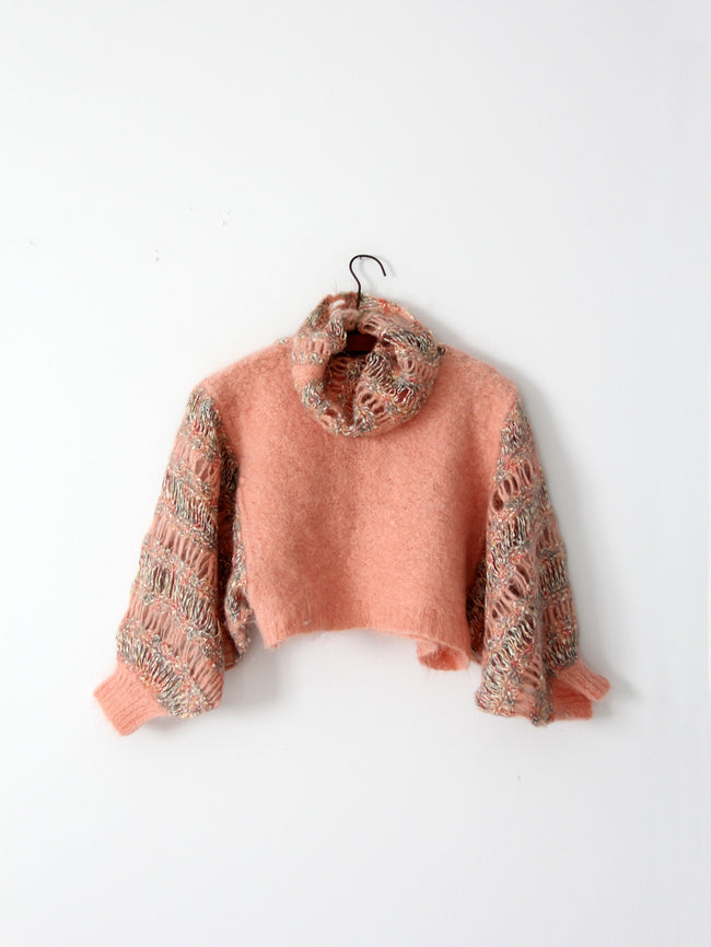 vintage crotchet sweater