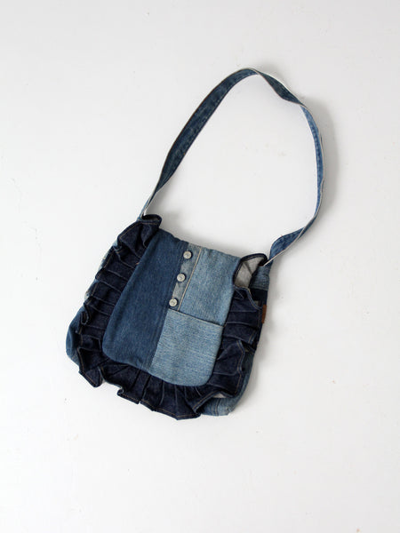 vintage Wrangler denim purse