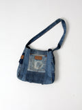 vintage Wrangler patchwork denim bag