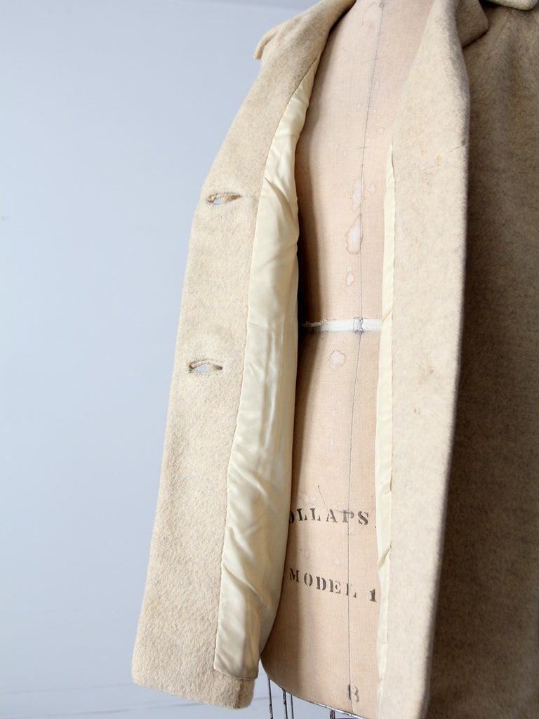 vintage wool blanket coat