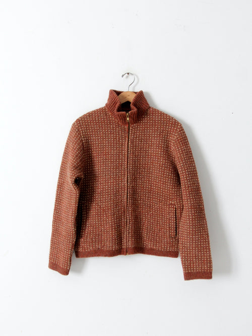 vintage Pendleton wool cardigan sweater