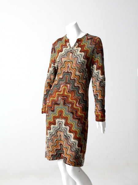 vintage 70s Glen of Michigan tapestry suit