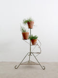 vintage plant stand display riser