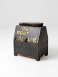 vintage shoe shine box