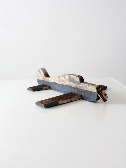 vintage 50s toy airplane