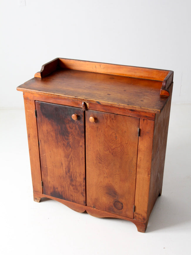antique farmhouse jelly cabinet