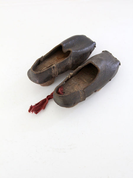 1800s antique children's shoes