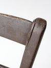 antique primitive chair