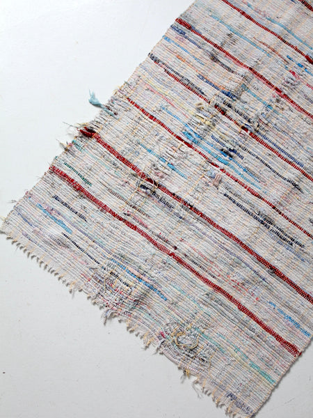 vintage farmhouse rag rug
