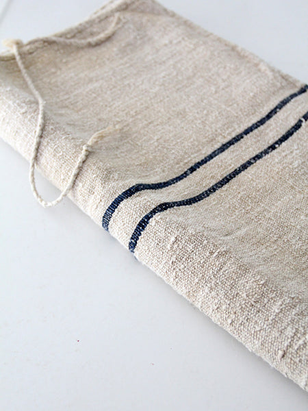antique homespun grain sack