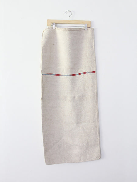 antique european grain sacks