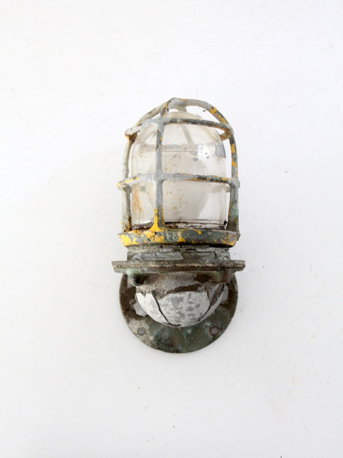 vintage ship sconce light