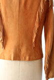 vintage Char & Sher leather jacket