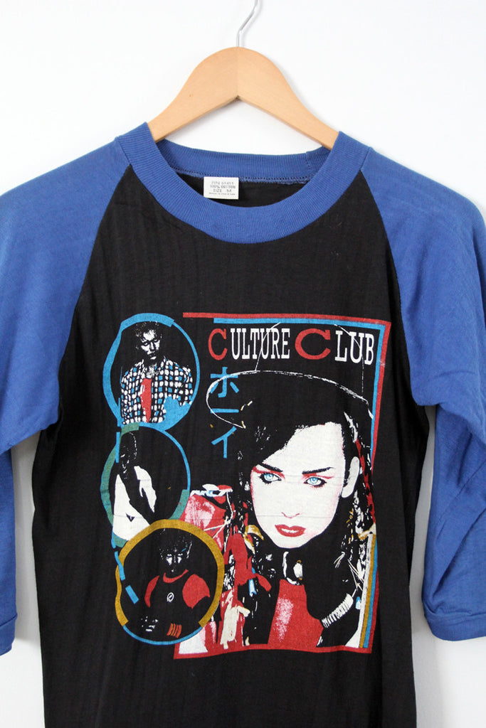 vintage Culture Club t-shirt, 1983 tour