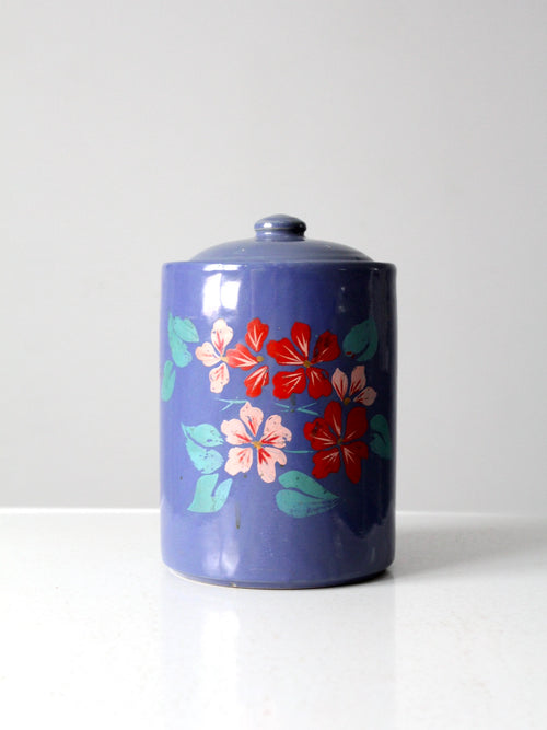 vintage 1930s painted cookie jar