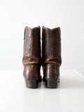 vintage Acme leather boots, size 8.5 D
