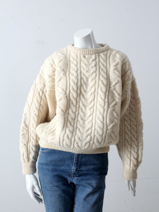 vintage Irish wool sweater