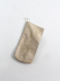 vintage canvas money bag