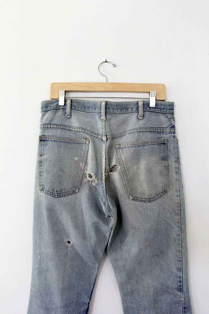 vintage jcpenney plain pocket jeans