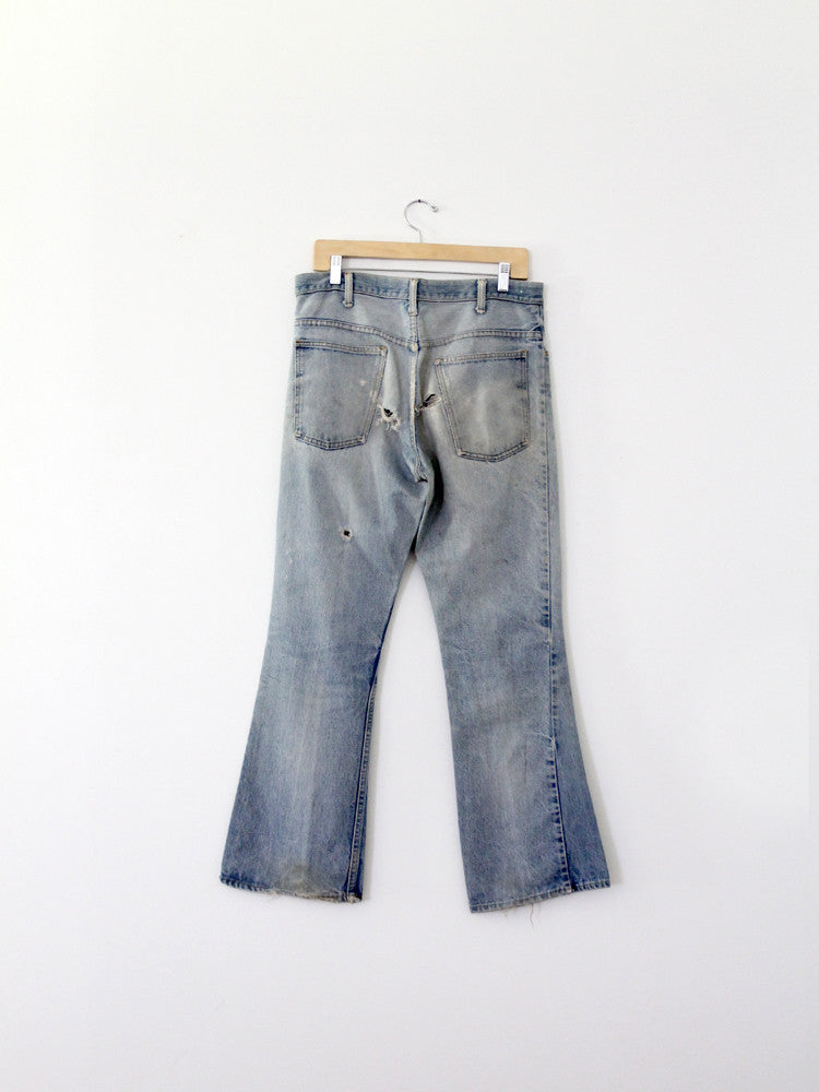 vintage jcpenneys plain pocket denim jeans