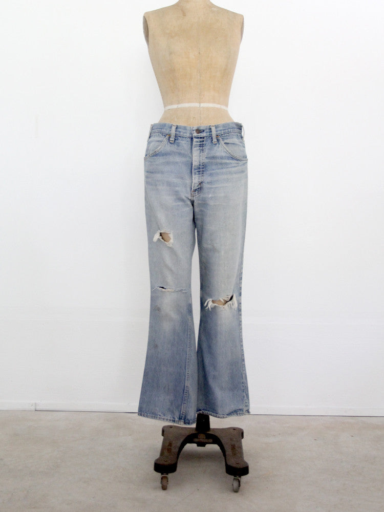 vintage jc penney plain pocket jeans