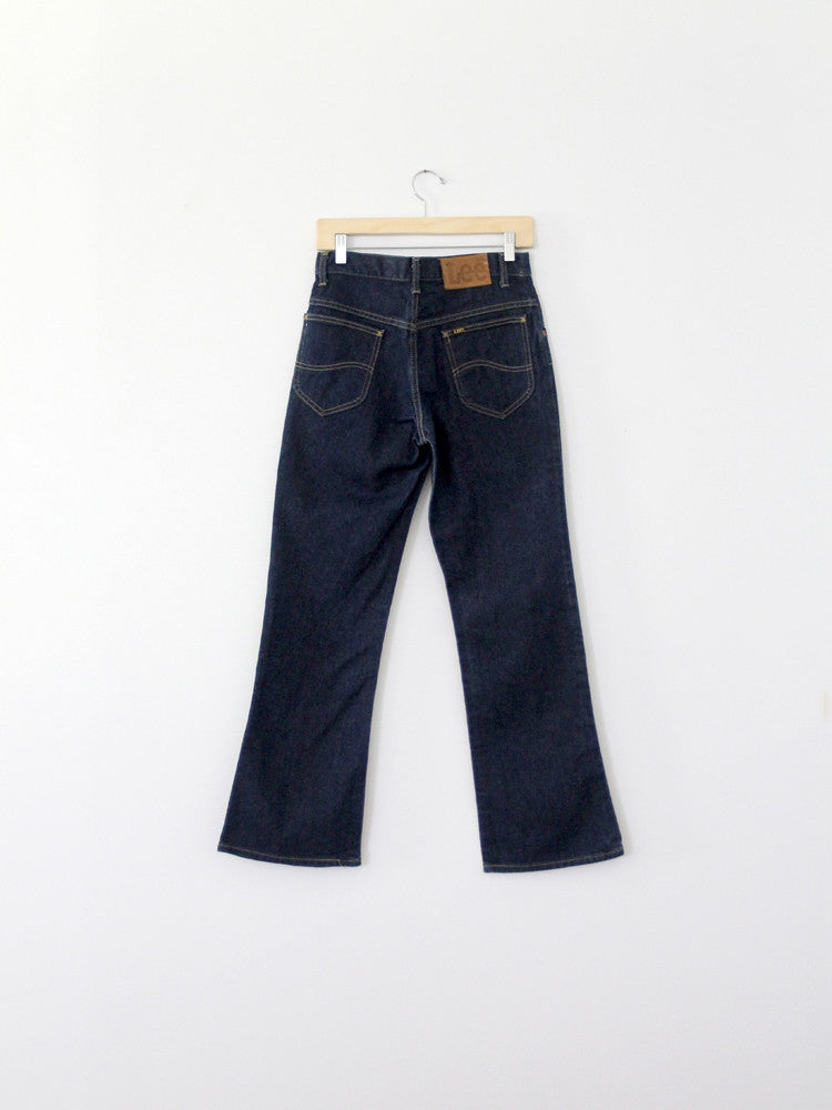 vintage lee dark denim