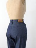 vintage 70s high waist denim flare jeans by Stephen Western
