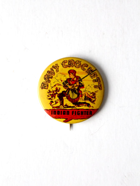 vintage 50s Davy Crockett pin