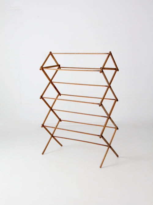 vintage Rid-Jid wood drying rack