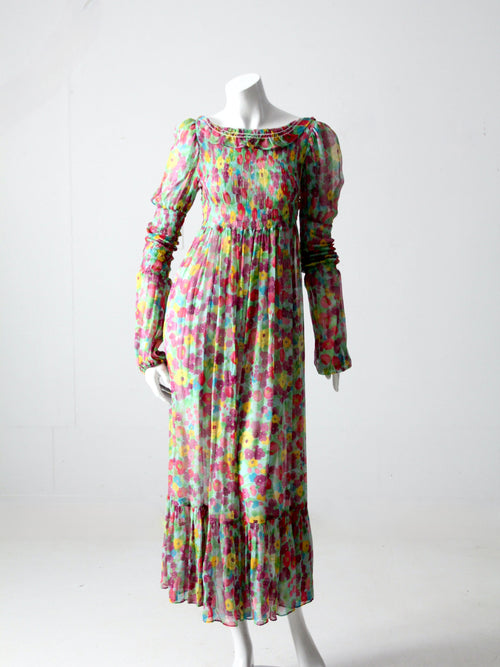 vintage 70s Young Edwardian dress