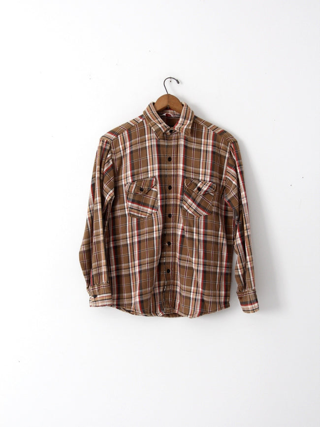 vintage Frostproof plaid shirt