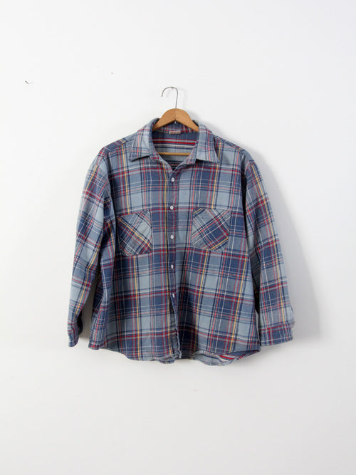 vintage 70s JC Penney Big Mac flannel shirt