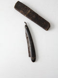 antique George Wostenholm & Sons straight razor