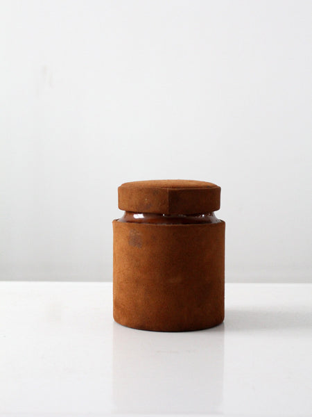 vintage copper kitchen canisters set