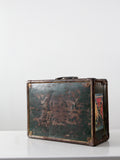 vintage metal travel case
