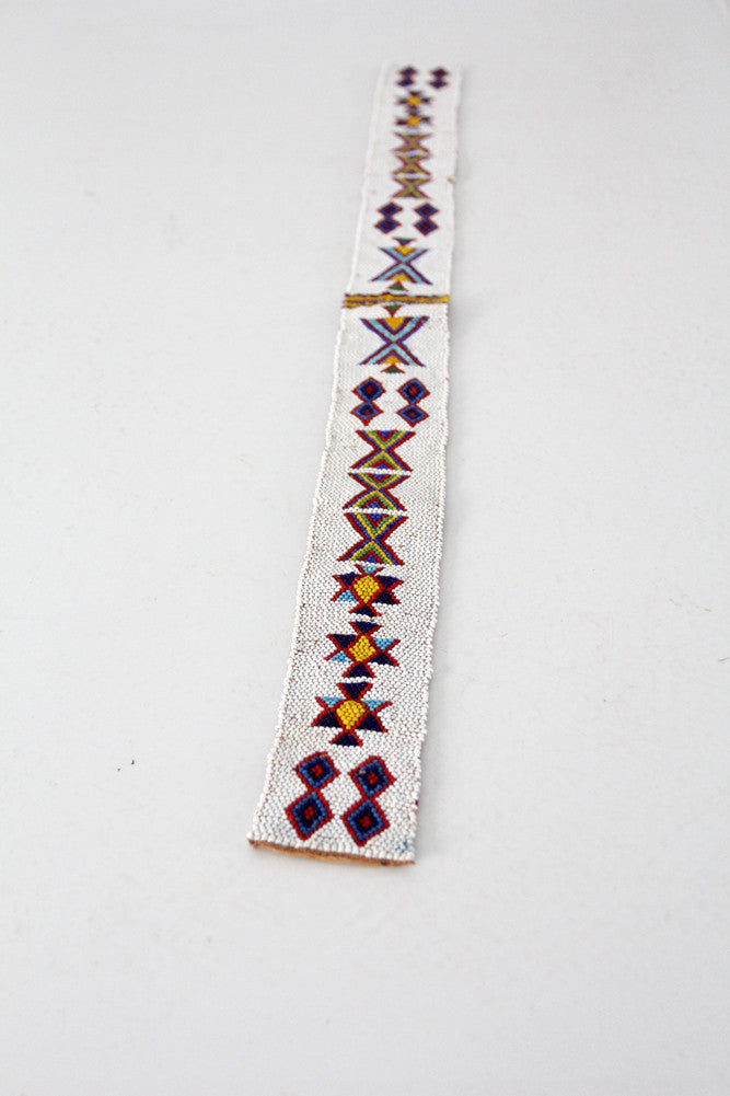 vintage Native American beaded band