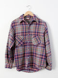 vintage 70s JCPenney Big Mac flannel shirt
