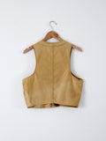 vintage 50s hunting vest by J.C. Higgins