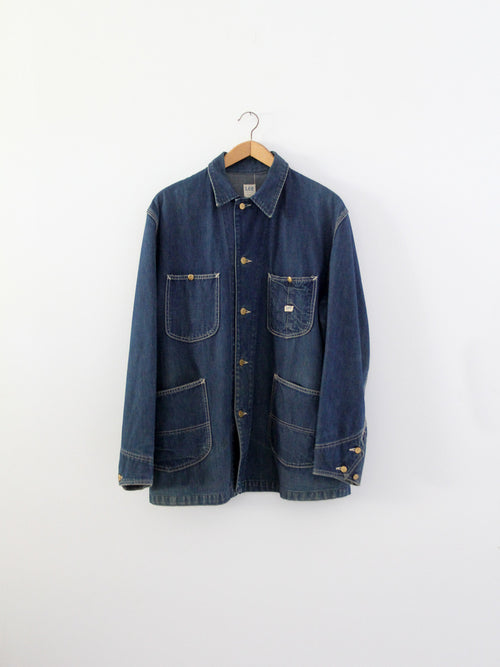 vintage 50s Lee denim barn coat