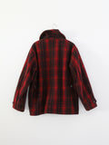 vintage Woolrich plaid jacket
